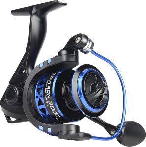 Most Economical Bass Fishing Reel Winner. It has all the features necessary to start fishing for bass!