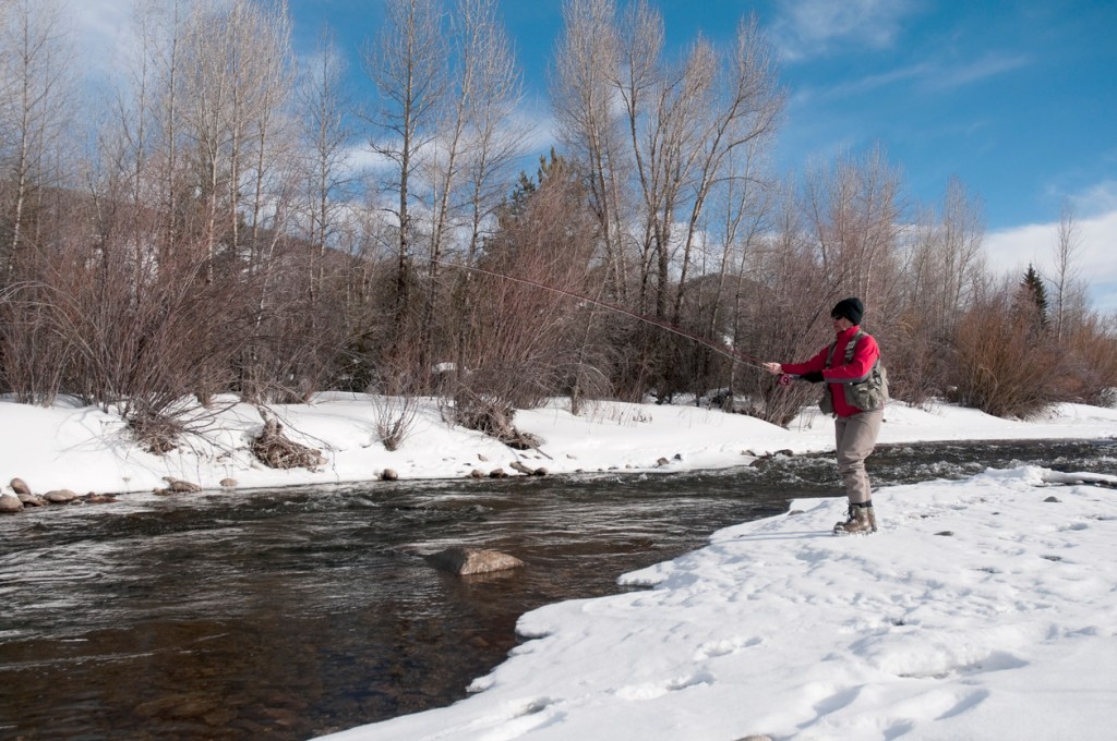 Fly-Fishing in Winter