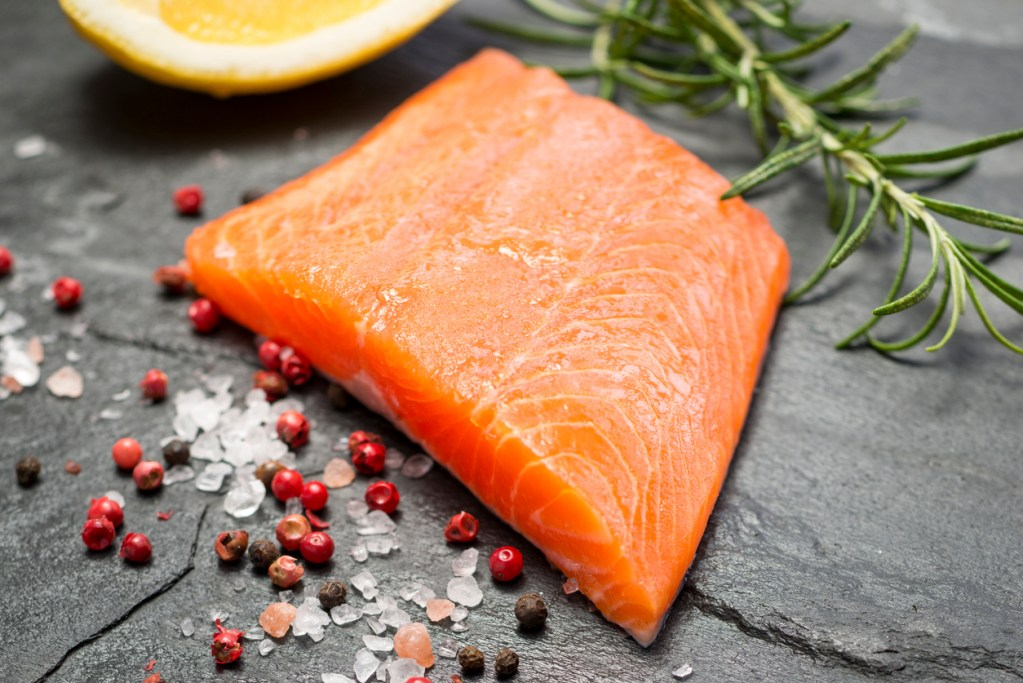 Fillet of Rainbow Trout with Lemon and Pepper