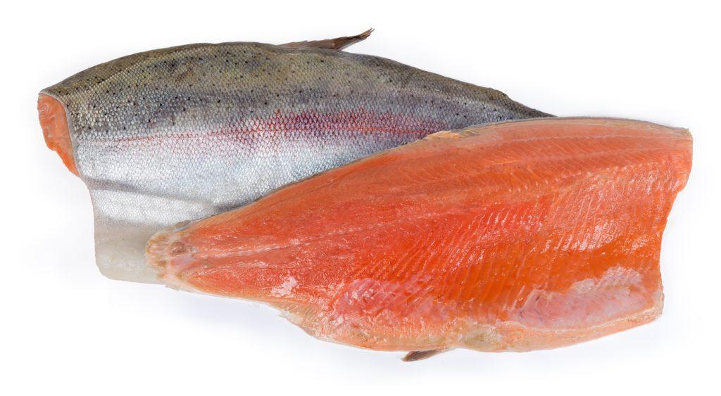 Two trout fillet