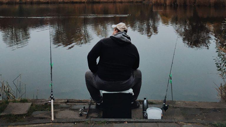 fishing alone