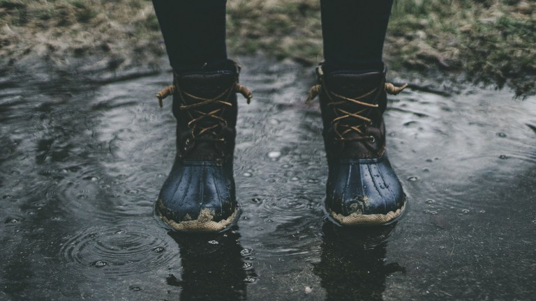 best shoes for fishing in the rain