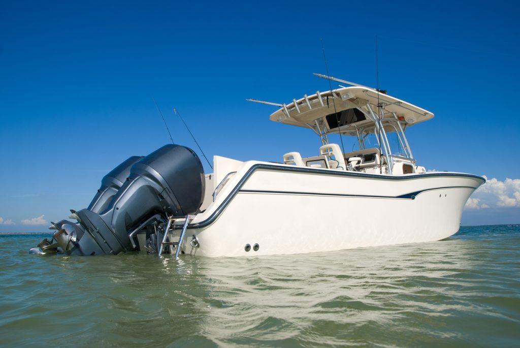 boat in water
