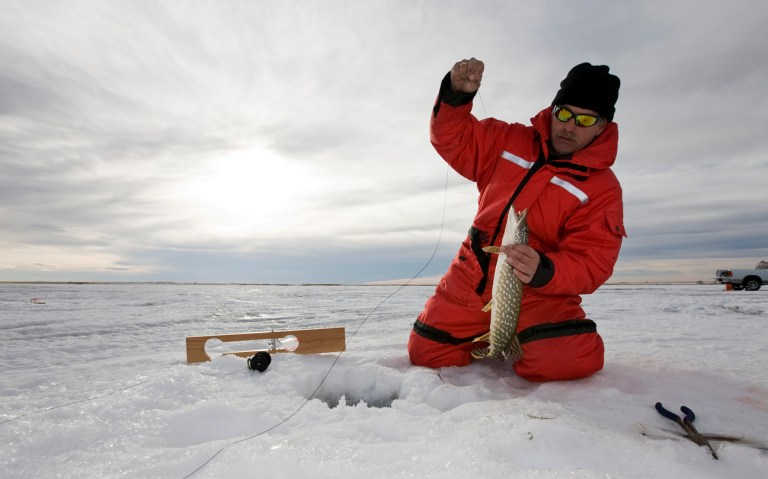 where to go ice fishing in wisconsin